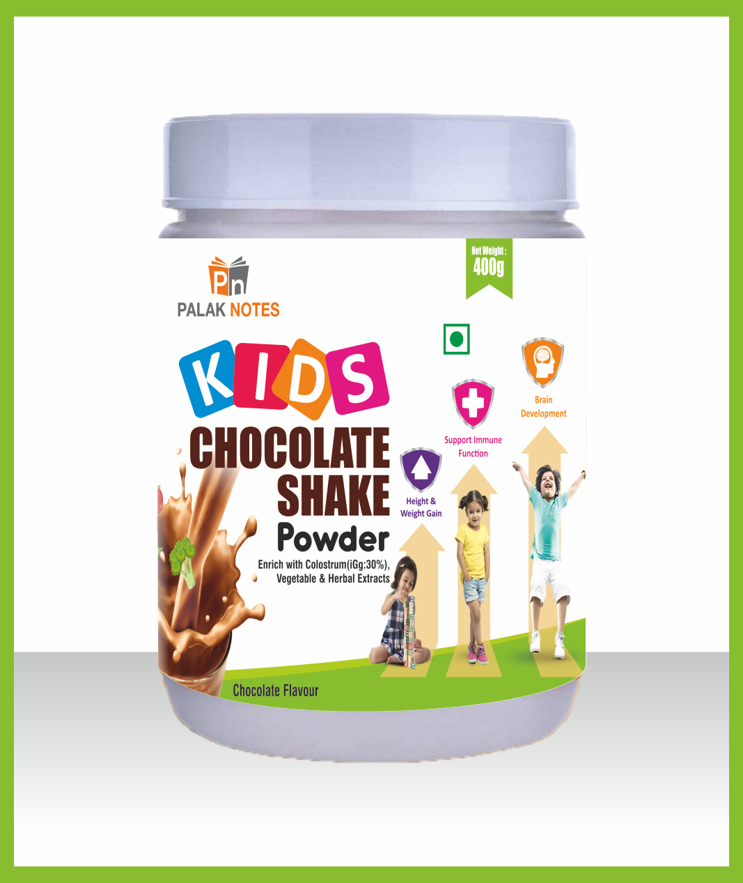 Kids chocolate shake