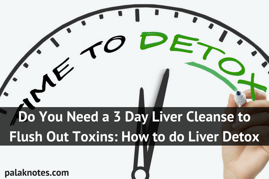 Do You Need a 3 Day Liver Cleanse to Flush Out Toxins I  How to do Liver Detox
