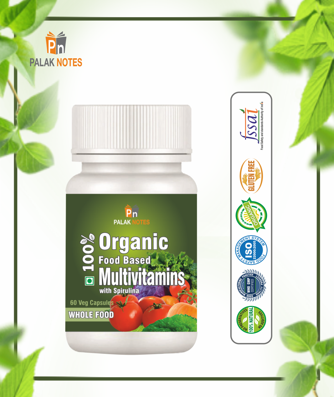 Plant Based Multivitamins
