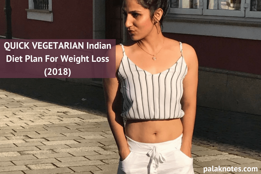QUICK VEGETARIAN Indian Diet Plan for Weight Loss FAST (2018)