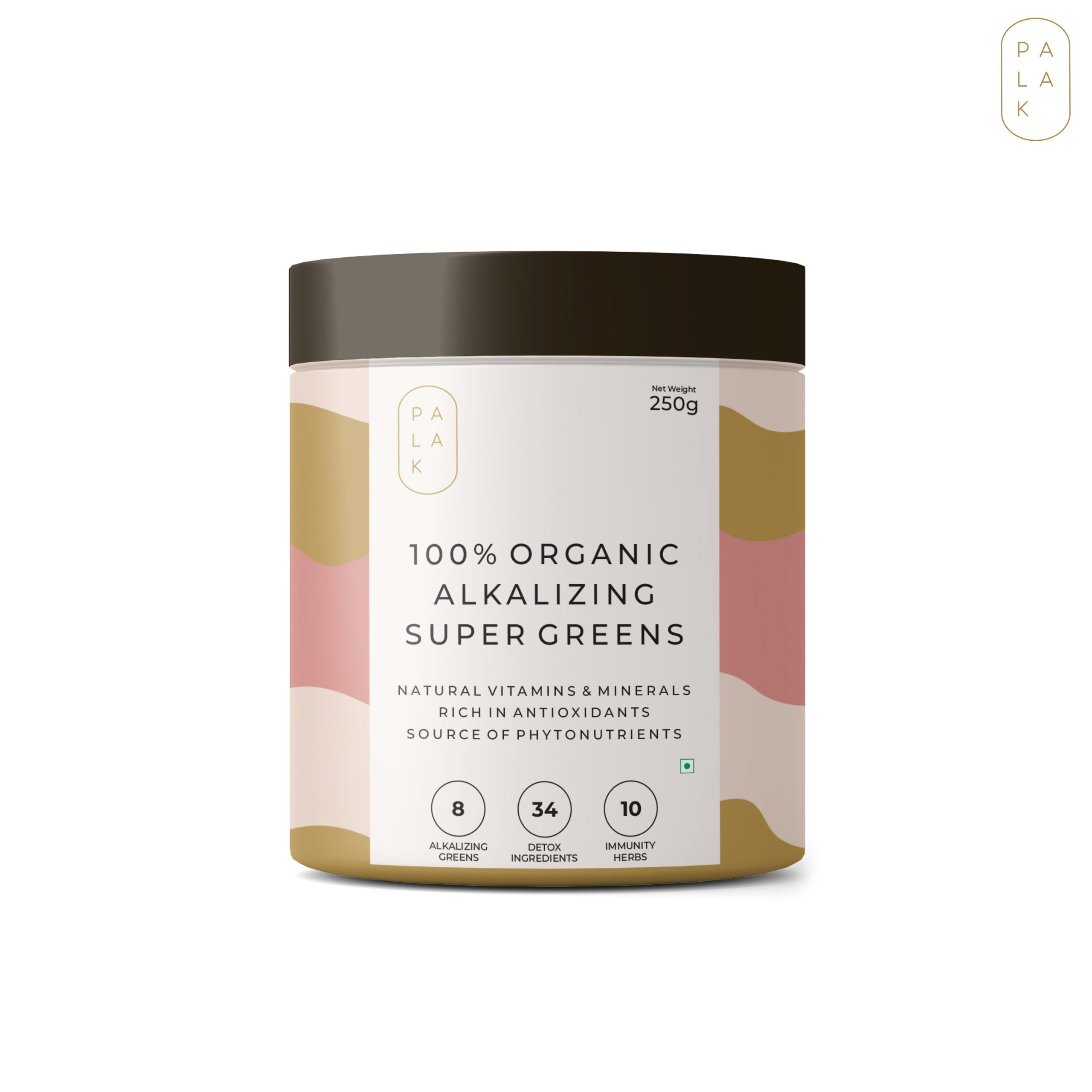 Palak Notes 100% Organic Alkalizing Super Greens