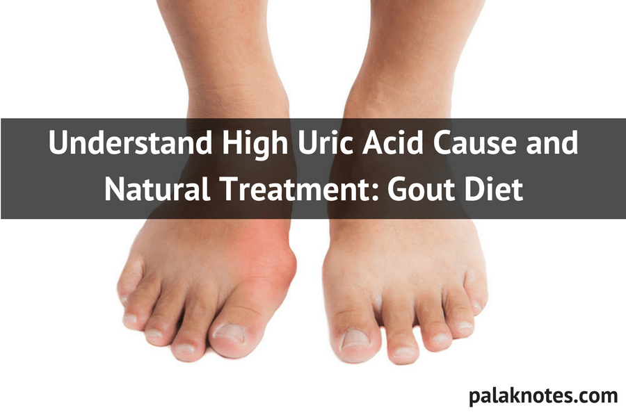 Understand High Uric Acid Cause and Natural Treatment I Gout Diet